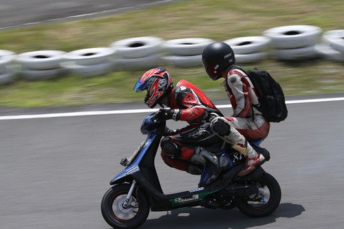 The Bizarre Japanese Sport Of Tandem Scooter Racing