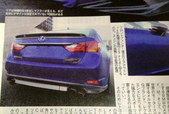 2015 Lexus GS F: This Is It