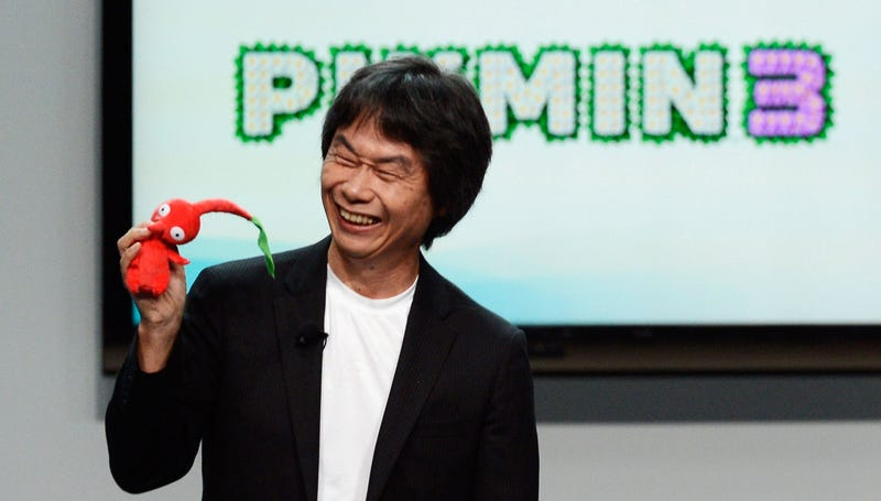 See Mario's Creator Act Like a Goofball On Stage at E3