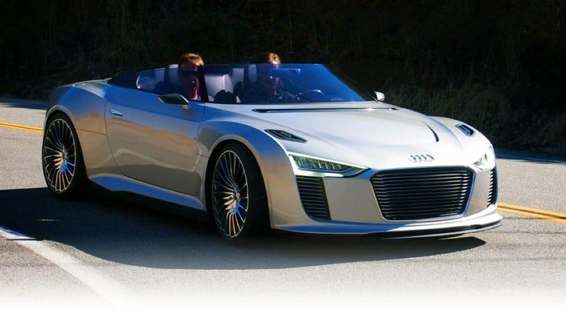 Audi E-Tron Spyder: First Drive