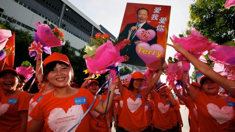 Foxconn Honcho Slams Koreans