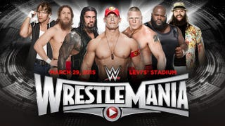 Wrestlemania - all about the old guys