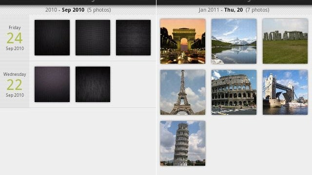 Photos Day Gallery Groups Your Pictures in a Timeline