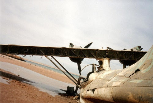 Abandoned Seaplane At Critical Intersection Of Planelopnik, Crash Week