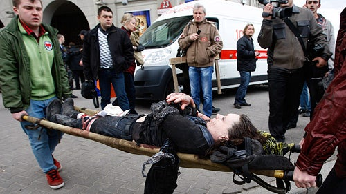 Subway Bombing in Belarus Kills 12
