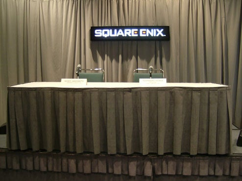 Liveblogging Square Enix Press Conference