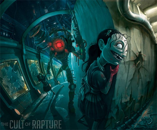 "BioShock 2's ""The Sisters"" By Jhonen Vasquez"