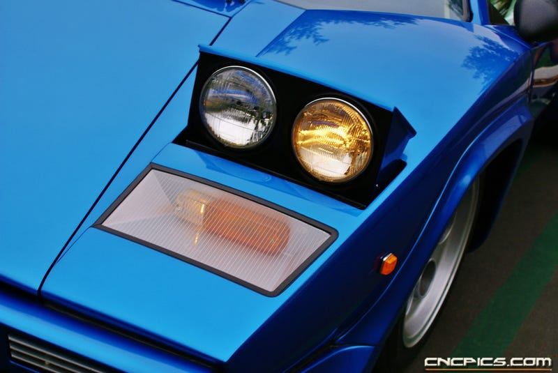 Blue Countach, how I love thee......