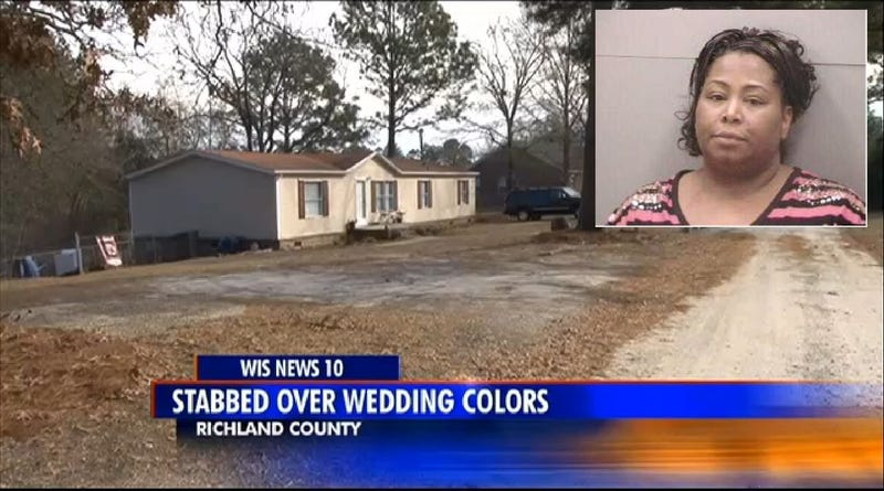 Woman Stabs Fiancé for Choosing Wrong Wedding Color Scheme