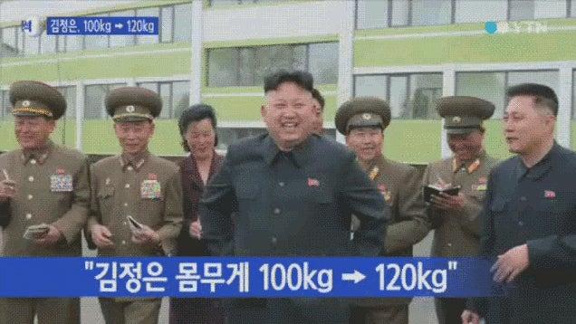 "Kim Jong-Un Is ""Getting Fatter,"" Reports the Korean Media"
