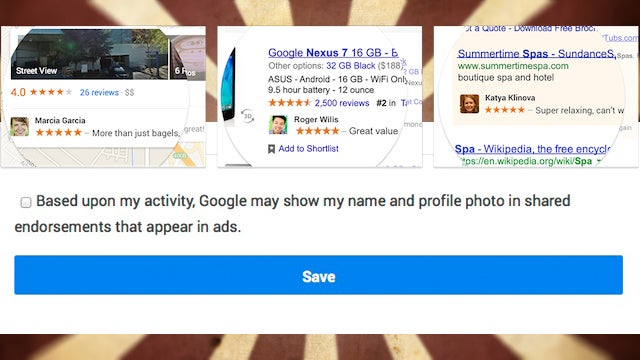 How to Opt Out of Google Using Your Name and Face in Ads