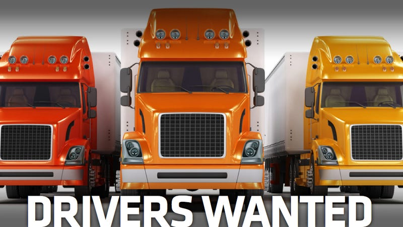 There Are 200,000 Trucker Jobs That No One Wants To Fill