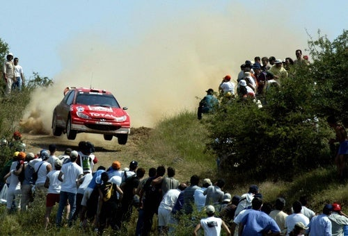 And Now For Some WRC Cars Not Crashing