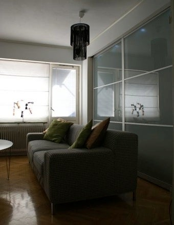 Turn a Sliding Door Wardrobe into a Room Divider