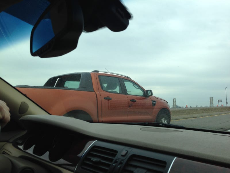 New Ford Ranger Spotted In The US, Looks A Lot Bigger Than We Remember