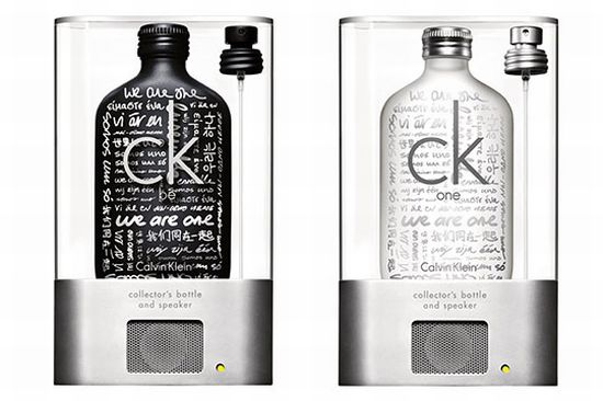 Calvin Klein MP3 Speaker Bottle: The Scent of a Gimmick