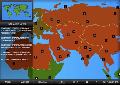 Saturday Timewaster: Pandemic 2