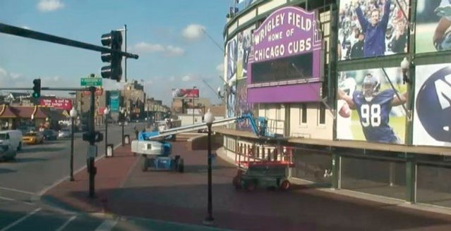 Wrigley Field Tarts Itself Up For Another Rich Loser