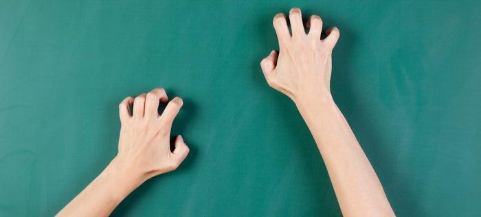 Why Fingernails Down a Chalkboard Makes You Cringe