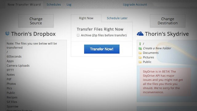 Mover.io Transfers Your Files from One Cloud Service to Another