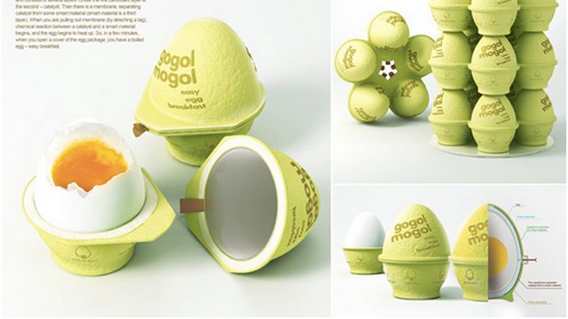 We Have So Many Questions About This Self-Cooking Egg Grenade