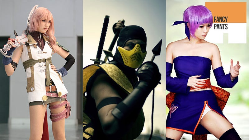 Where People Look Like Mortal Kombat Characters (and Xenosaga Goes to the Beach)