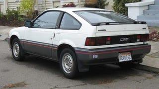 1986 honda crx hf