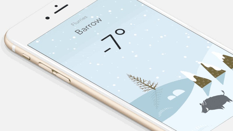Wild Weather Adds Hand Drawn Illustrations to Your Weather Forecasts