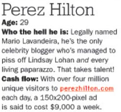 The Truth About Perez Hilton's Traffic