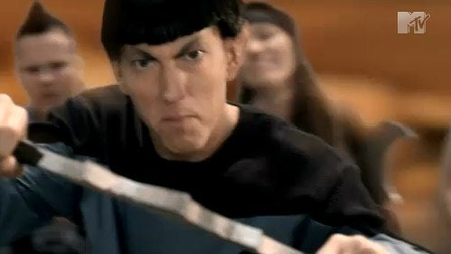 Eminem's New Star Trek Music Video Takes A Bat'leth To Planet Womyn
