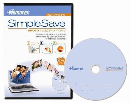 Memorex SimpleSave is Easy DVD Recording For Your Grandparents