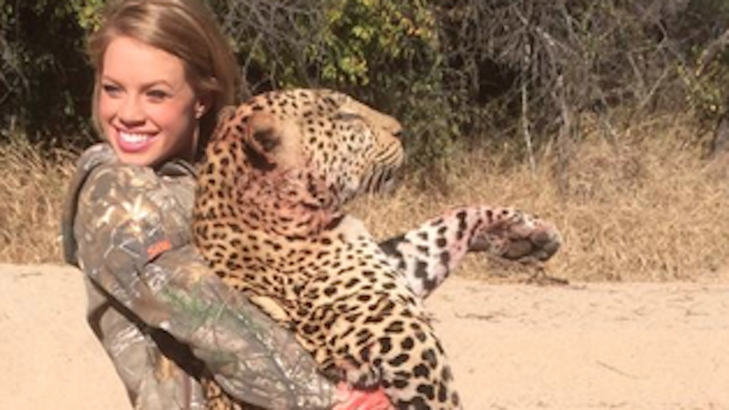 Meet the Texas Cheerleader Famous for Killing Animals in Africa