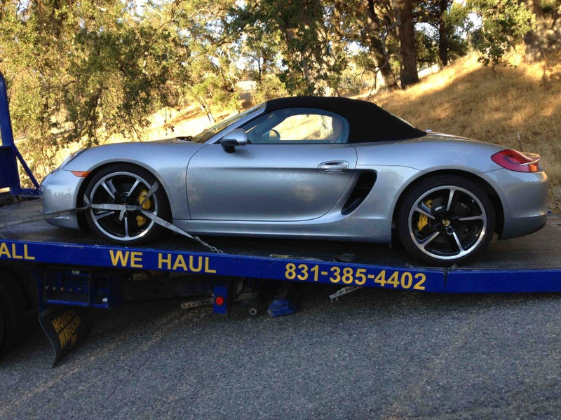 How A Porsche Got Me Frisked By The Military Police