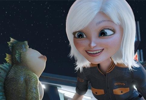 Laurie And Arnett Ad-Libbed Monsters Vs. Aliens