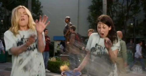 Community: New Rivalries, Patton Oswalt, and Accidental Mud Wrestling