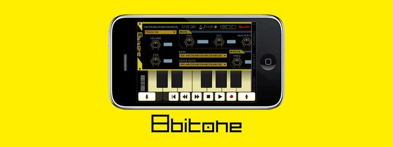iPhone Becomes An 8-Bit Synthesiser