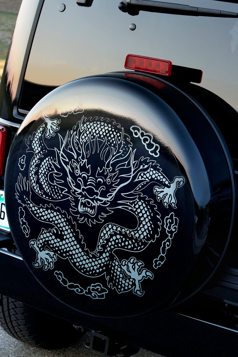 Jeep Wrangler Dragon Edition: Just In Time For Halloween