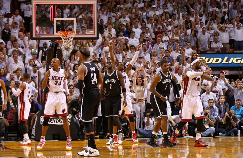 The Heat Didn't Care That Joe Johnson Had A 34-Point Game