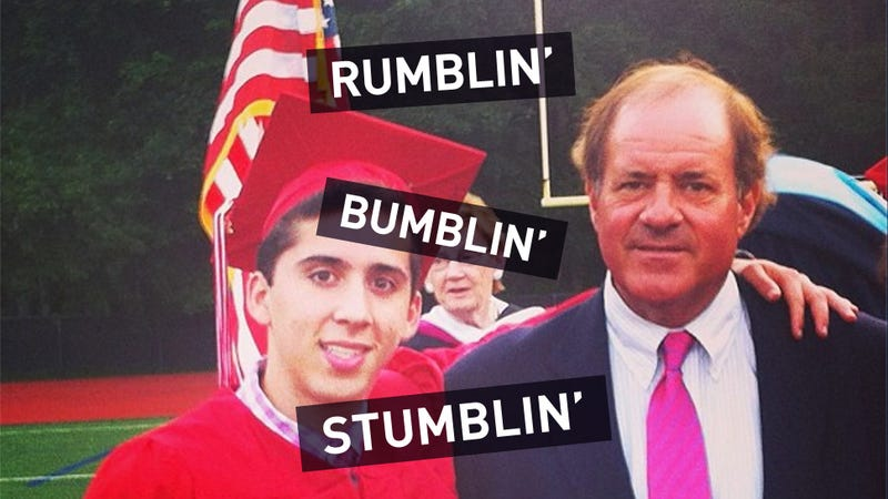 Chris Berman Spoke At A High School Graduation, And It Was A Disaster