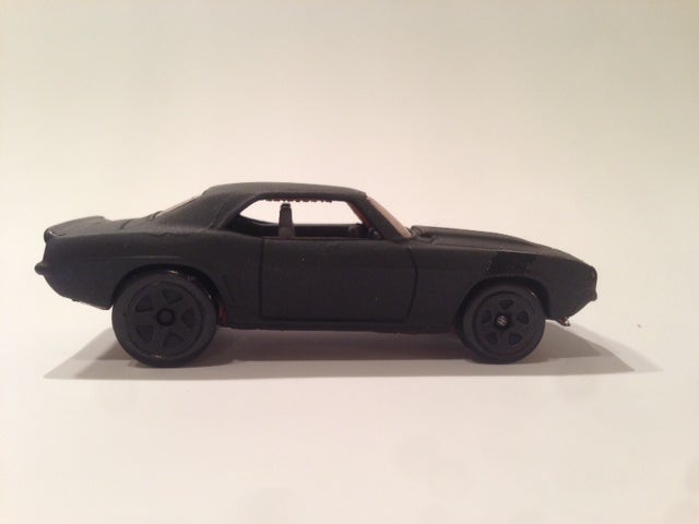 First Foray into Custom Painted Hot Wheels Is Complete