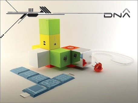 Modular DNA PC Concept Lets You Build it Like LEGO