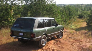 Driving ... Off-Road In A Range Rover Classic