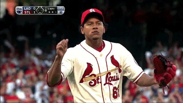 The Cardinals Are Very Embarrassed By Carlos Martinez's Wall Of Porn