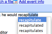 Autosuggest words on your Mac