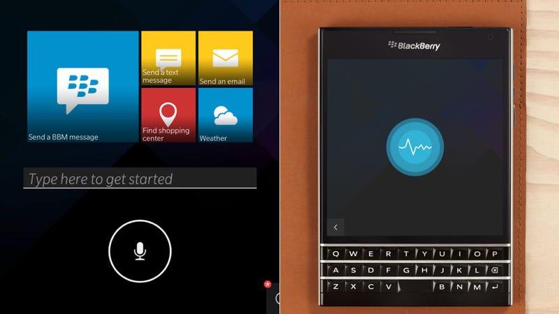 BlackBerry's Finalllllllllllllllly Getting Its Own Siri-Like Assistant
