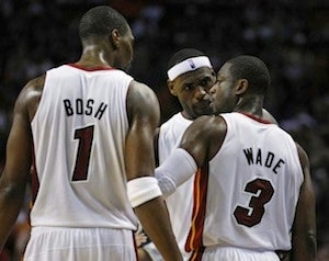 """Dwyane Wade Hopes The Heat Will Improve Upon Its """"I Hope It Goes In"""" Last-Second Shot Strategy"""