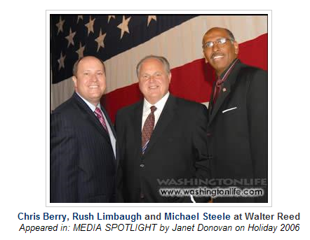 Funky Fresh Michael Steele Battles Rush Limbaugh For Control of Republican Party