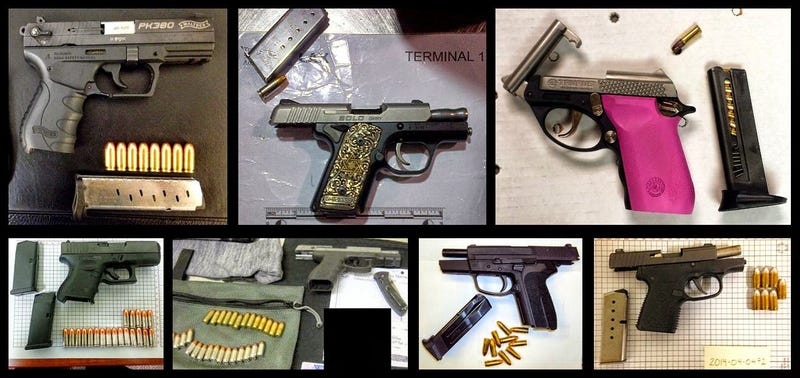 The TSA Found 51 Firearms In Luggage In Just One Week