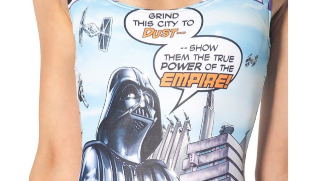 Black Milk's new Star Wars dresses put Leia's metal bikini to shame