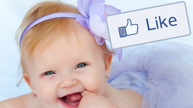 A Baby Named 'Like'